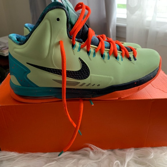 best sneakers cheap preview of Nike Shoes   Kd Kevin Durant Bhm Neon Green Sneakers   Poshmark